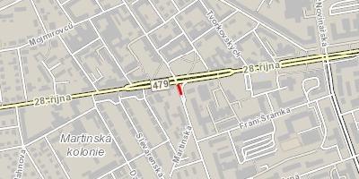 Omezení provozu v ulici 1. máje