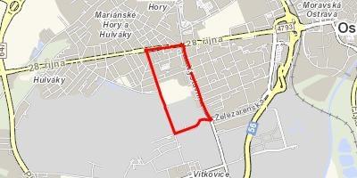 Uzavírka křižovatky v ulicích Zelená a Výstavní