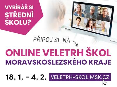 Deváťáci si letos mohou vybrat střední školu online