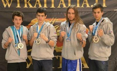 Kickboxeři na radnici