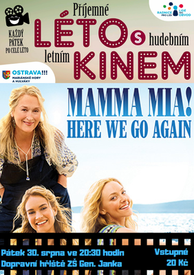 Letní kino - Mamma Mia! Here We Go Again