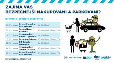 Městská policie Ostrava posiluje v předvánočním období výkon služby