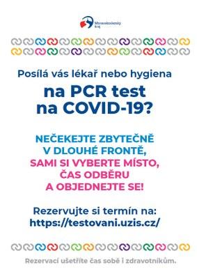 NOVÝ SYSTÉM TESTOVÁNÍ NA COVID-19 UŠETŘÍ ČAS