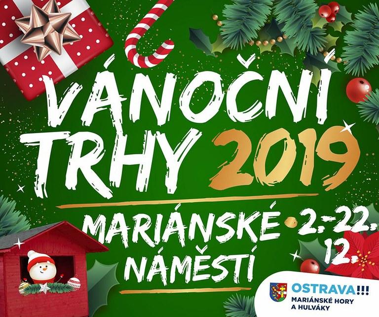Obyvatelé Mariánských Hor a Hulvák se poprvé dočkají vánočních trhů