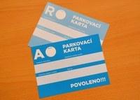 """OZNÁMENÍ O ZMĚNĚ POPLATKU ZA PARKOVACÍ KARTY """"R"""""""