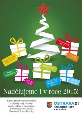 Vánoční přání a PF 2015