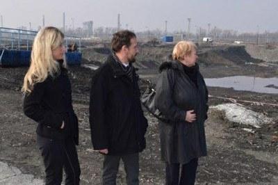 Představitelé města Ostravy navštívili laguny Ostramo
