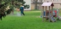 Školky v Mariánských Horách už mají opět za sebou postřik proti klíšťatům