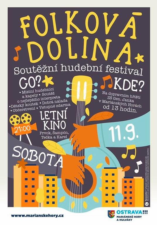 Soutěžní festival Folková Dolina na dopravním hřišti
