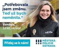 Staňte se strážníkem Městské policie Ostrava