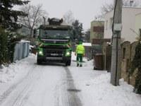 Svoz bioodpadu v Ostravě v zimě nekončí