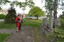 Památník umučených na hřbitově
