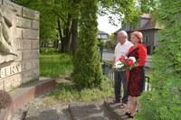 Uctění památky obětí při osvobození Ostravy