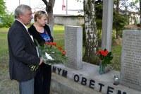 Uctění památky obětí války