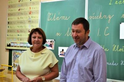 V Základní škole Gen. Janka přibylo v září 49 nových prvňáčků