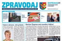 Vyšlo lednové číslo Zpravodaje Mariánských Hor a Hulvák
