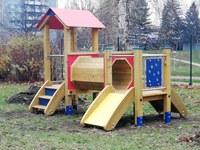 Zahradu Jesliček ozdobily nové herní prvky