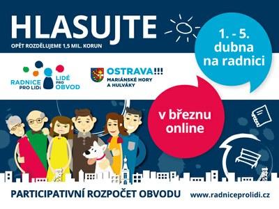 Známe vítěze online hlasování třetího ročníku participativního rozpočtu!
